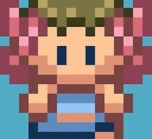 Phoebe Overworld Sprite by fourfourfour