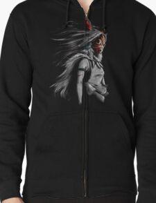 Mononoke Wolf Anime Tra Digital Painting T-Shirt