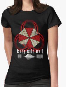 BATH SALT EVIL Womens Fitted T-Shirt
