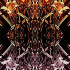 Garden Variety Abstract by Jean Gregory  Evans