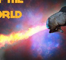 Rams of the Slam World Sticker