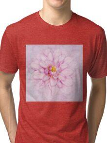 Floral Layers Tri-blend T-Shirt