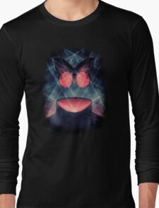 Beautiful Symmetry Surreal Butterfly Long Sleeve T-Shirt
