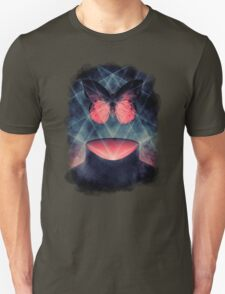 Beautiful Symmetry Surreal Butterfly T-Shirt