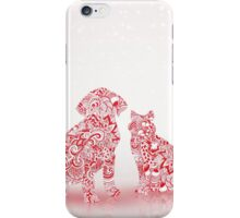 Pets Christmas iPhone Case/Skin