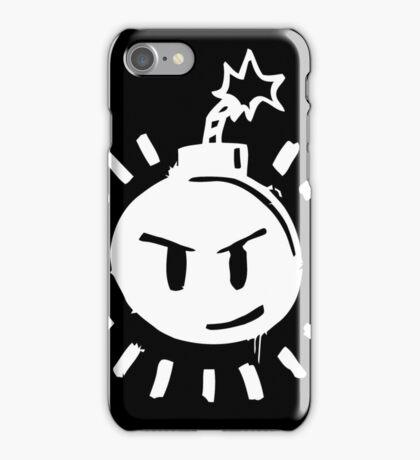 Funny Bomb - Black T iPhone Case/Skin