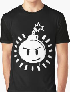 Funny Bomb - Black T Graphic T-Shirt