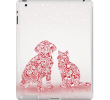 Pets Christmas iPad Case/Skin