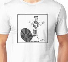 Frederick in Black & White Unisex T-Shirt