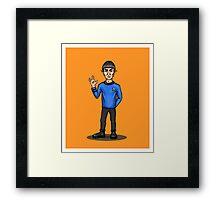 Live Long and Prosper - Spock Framed Print