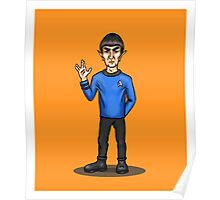 Live Long and Prosper - Spock Poster