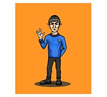 Live Long and Prosper - Spock Photographic Print