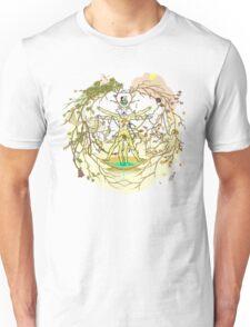 Entangled Vitruvian Unisex T-Shirt