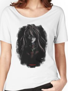 Asuka Evangelion Anime Tra Digital Painting  Women's Relaxed Fit T-Shirt