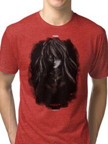 Asuka Evangelion Anime Tra Digital Painting  Tri-blend T-Shirt