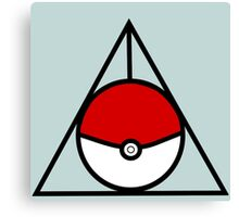 Pokemon Hallows Canvas Print