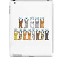 Happy Hanukkah Cats iPad Case/Skin