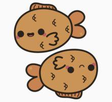 Kawaii zodiac-Pisces Kids Tee