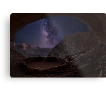The magic of False Kiva Metal Print