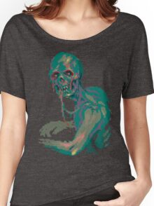 Pixel Zombie Women's Relaxed Fit T-Shirt
