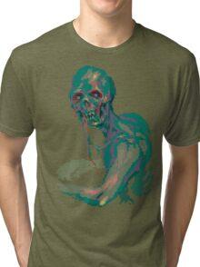Pixel Zombie Tri-blend T-Shirt