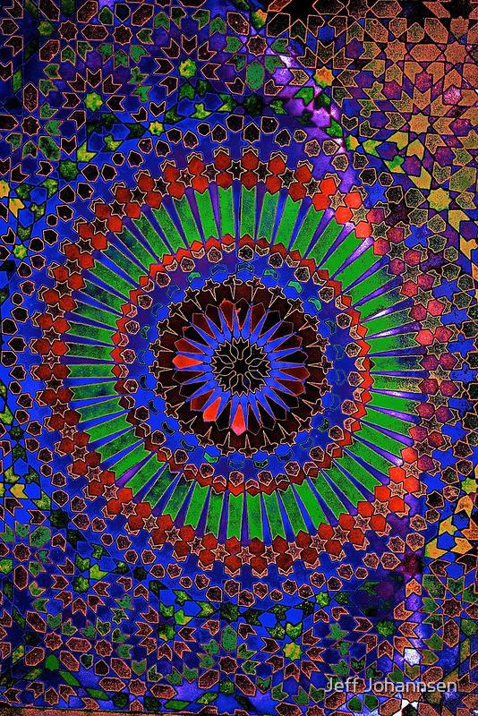 Mosaic Maze by Jeff Johannsen