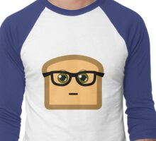 Hipster Toast Men's Baseball ¾ T-Shirt
