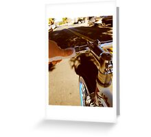 Fixie Handles Greeting Card