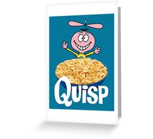 Quisp Greeting Card