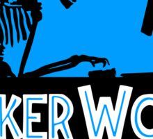 Hacker World Sticker