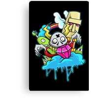 That Ol' Gem Plucker Canvas Print