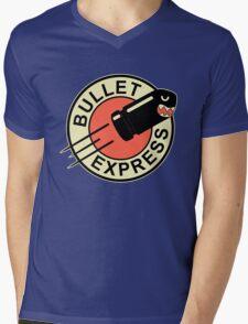 Bullet express Mens V-Neck T-Shirt