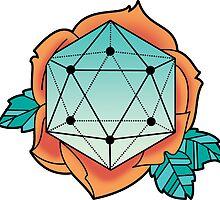 Floral Isosahedron by kzenabi