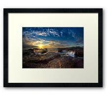 Kiama Sunrise HDR v1 Framed Print
