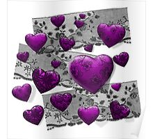 Gothic Hearts & Old Lace Poster