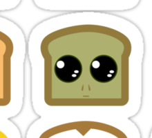 All The Toast I made Sticker