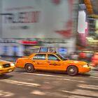 Cab Race by tazbert