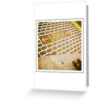 Look! Greeting Card