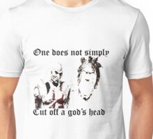 One does not simply.... Unisex T-Shirt