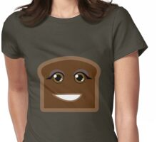 Burnt Toast Womens Fitted T-Shirt