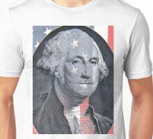 George Washington and Stars and Stripes Unisex T-Shirt
