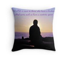 ~ Psalm 34:18 ~ Throw Pillow