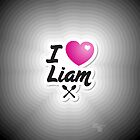 One Direction - I Love Liam iPhone/iPod case by Adriana Owens