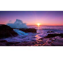 Werri Beach Sunrise Photographic Print