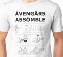Superheroes Assembling Unisex T-Shirt