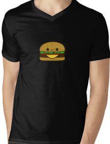 Yummy kawaii burger Mens V-Neck T-Shirt