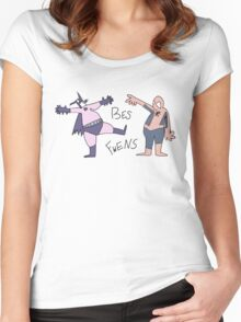 BES FWENS Women's Fitted Scoop T-Shirt
