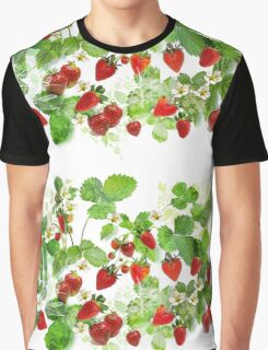 Ripe Strawberries from Provence Graphic T-Shirt