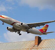 Hainan Airlines Airbus A330 by Julia Gutgesell