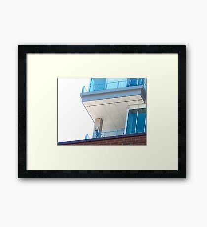 Praising the penthouse Framed Print